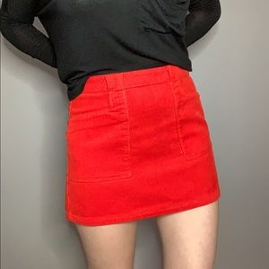 BRAND NEW WOT Forever 21 Ribbed Mini Pencil Skirt